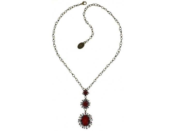 Chrysanthemum - červená Náhrdelníky - 5450543078489