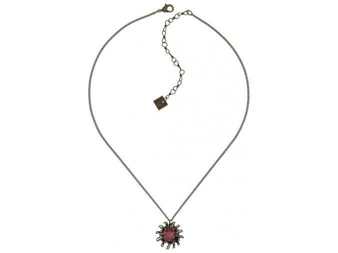 Chrysanthemum - růžová Náhrdelníky - 5450543078533