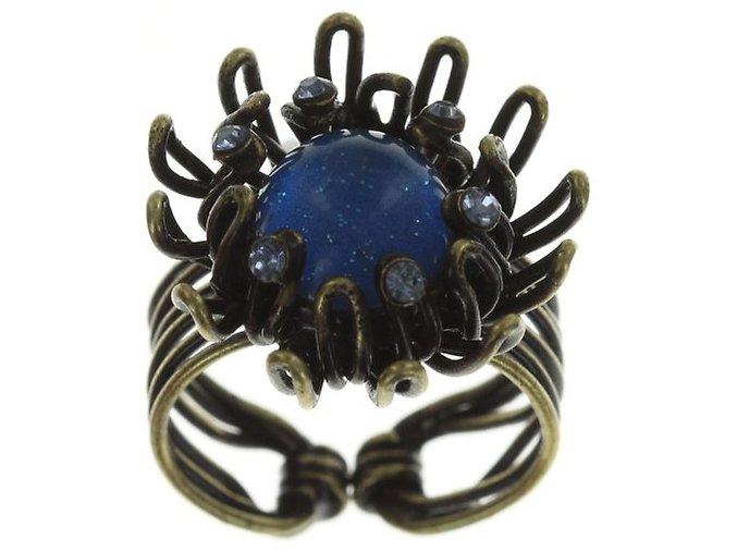Chrysanthemum - modrá Prsteny - 5450543078960