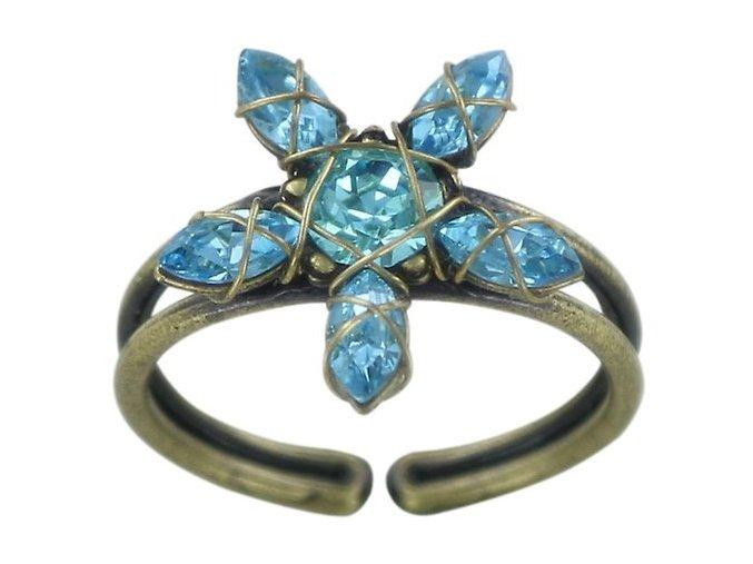 Marguerite - modrá Prsteny - 5450543082172