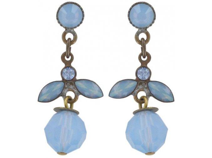 Marguerite - modrá Náušnice > Puzety - 5450543082851