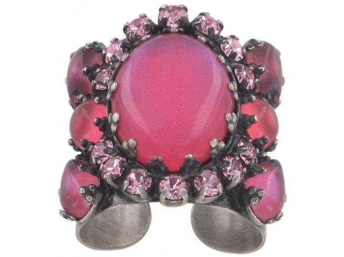 Enchanted - růžová Prsteny - 5450543088105