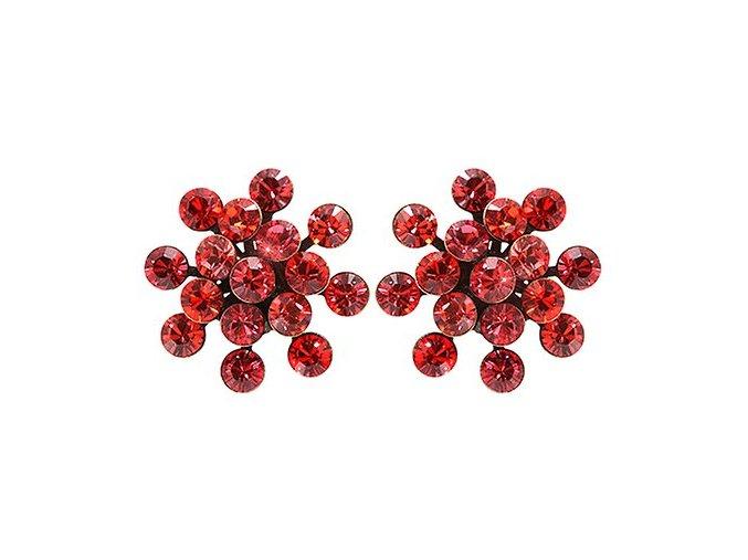 Magic Fireball - červená Náušnice > Puzety - 5450543132532
