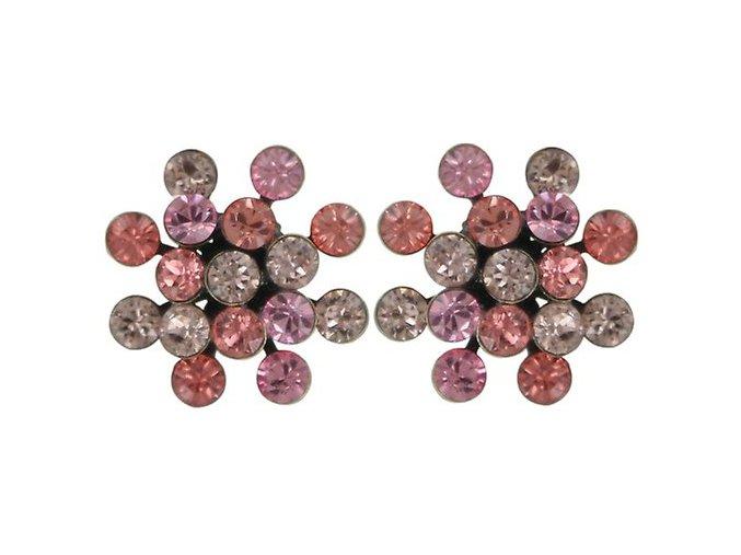 Magic Fireball - beige/pink Náušnice > Puzety - 5450543132754