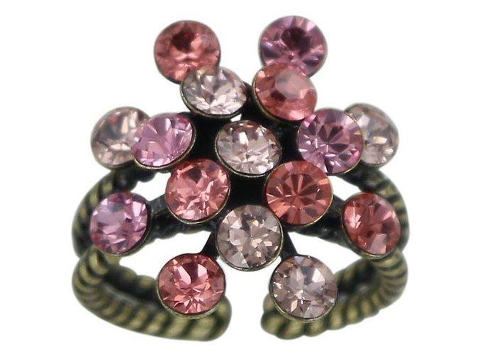 Magic Fireball - beige/pink Prsteny - 5450543132778