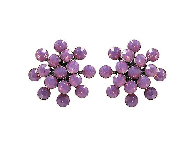 Magic Fireball - růžová Náušnice > Puzety - 5450543133850