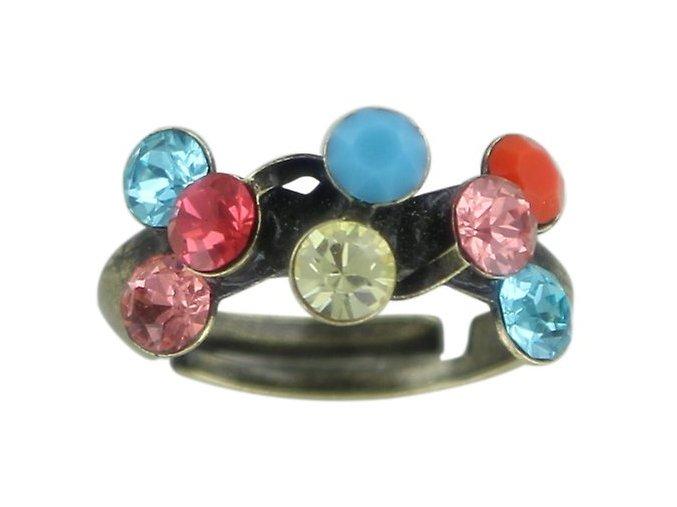 Magic Fireball - multi/více barev Prsteny - 5450543136943