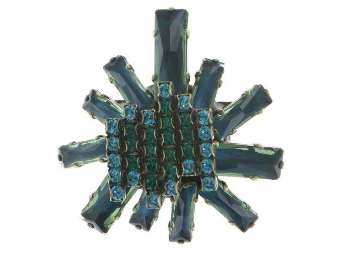 Manhattan Rocks - modrá/zelená Brože - 5450543162362