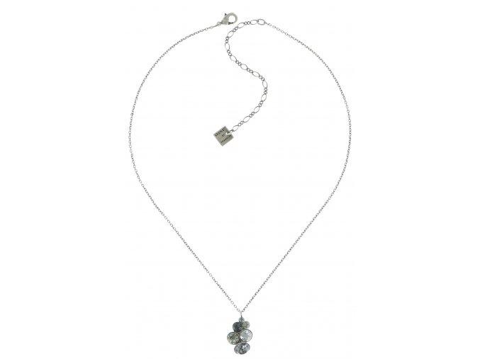 Petit Glamour - šedivá Náhrdelníky - 5450543182612
