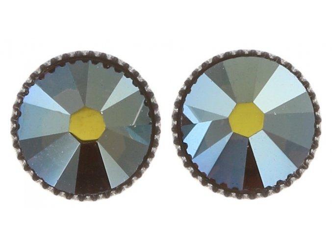 Black Jack - modrá Náušnice > Puzety - 5450543206073