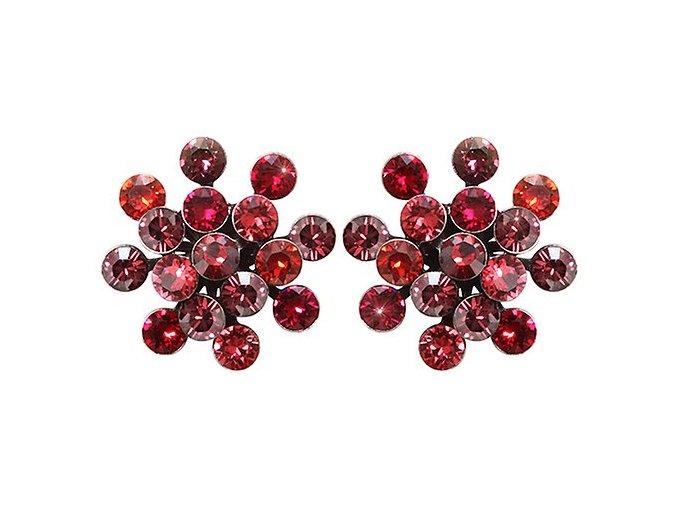 Magic Fireball - růžová/červená Náušnice > Puzety - 5450543239323