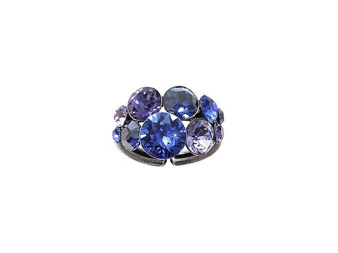 Petit Glamour - modrá/fialová Prsteny - 5450543241722