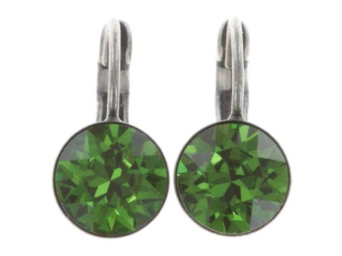 Black Jack - zelená Náušnice > Klasickézapínání - 5450543252315