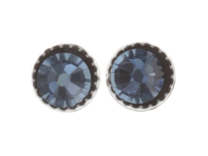 Black Jack - modrá Náušnice > Puzety - 5450543253947