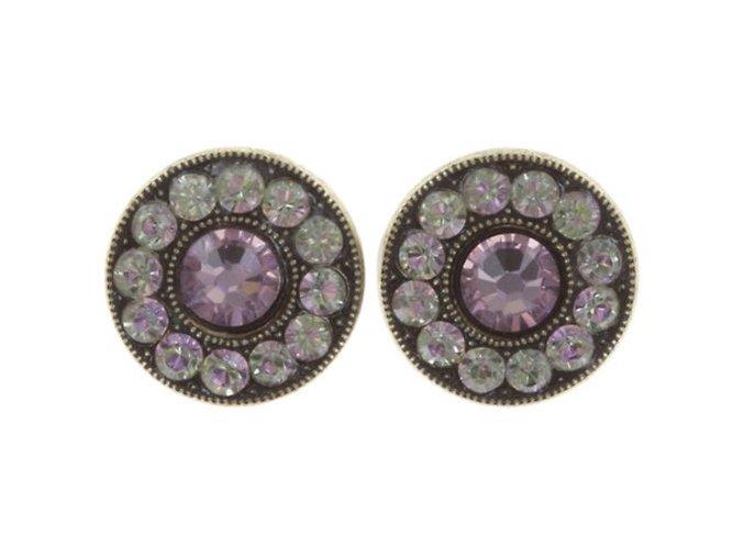 Spell on You - fialová Náušnice > Puzety - 5450543257426