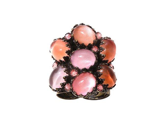 Melody Drops - růžová Prsteny - 5450543259772