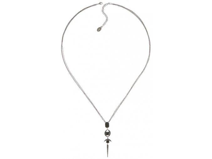 Art Deco Oriental - černá Náhrdelníky - 5450543278315