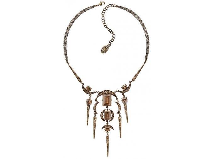 Art Deco Oriental - béžová Náhrdelníky - 5450543278360