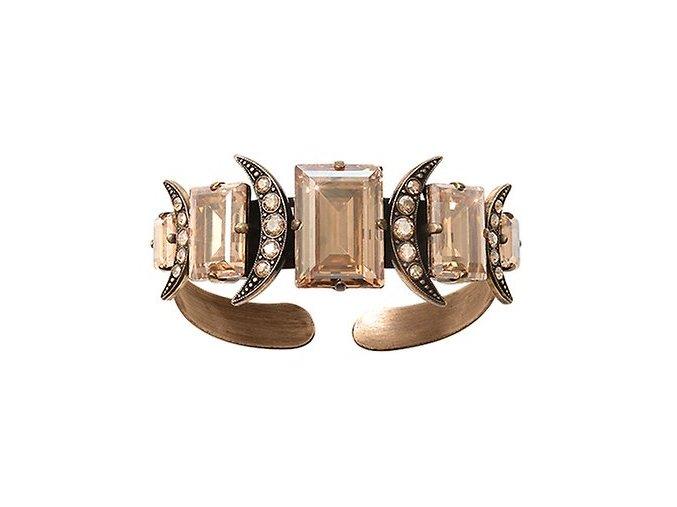 Art Deco Oriental - béžová Náramky > Pevné - 5450543278421