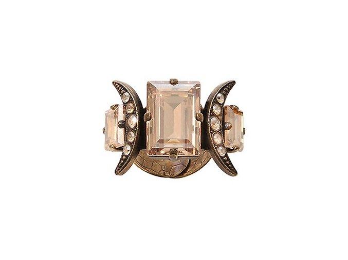 Art Deco Oriental - béžová Prsteny - 5450543278483