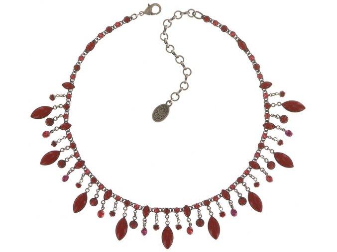 Dangling Navette - červená Náhrdelníky - 5450543278681