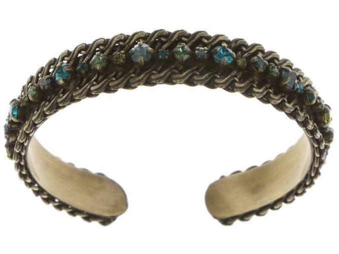 Stone Rhythm - zelená Náramky > Pevné - 5450543279411