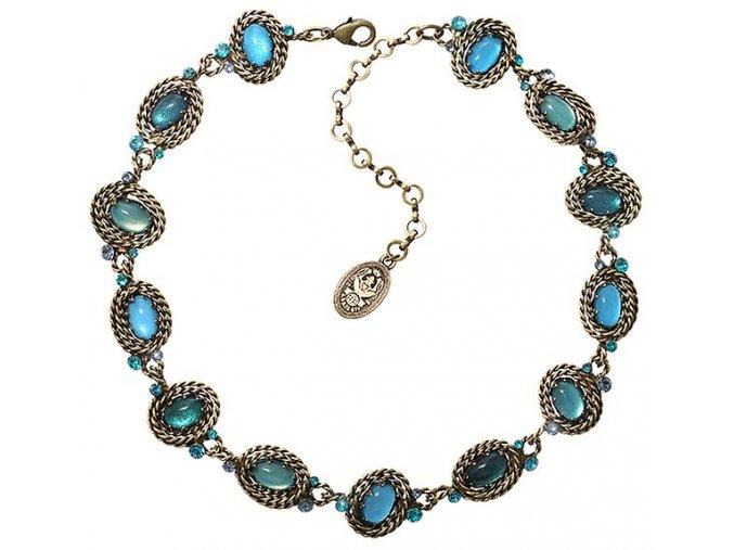 Twisted Lady - modrá Náhrdelníky - 5450543290898