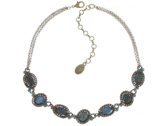 Twisted Lady - modrá Náhrdelníky - 5450543290904