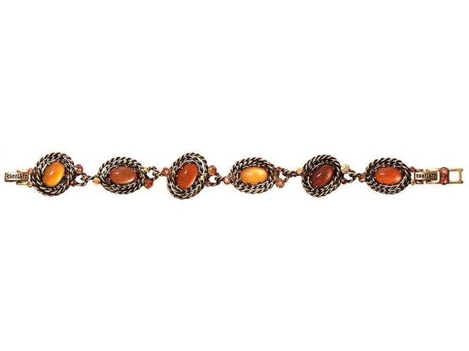 Twisted Lady - oranžová Náramky > Klasické - 5450543291031