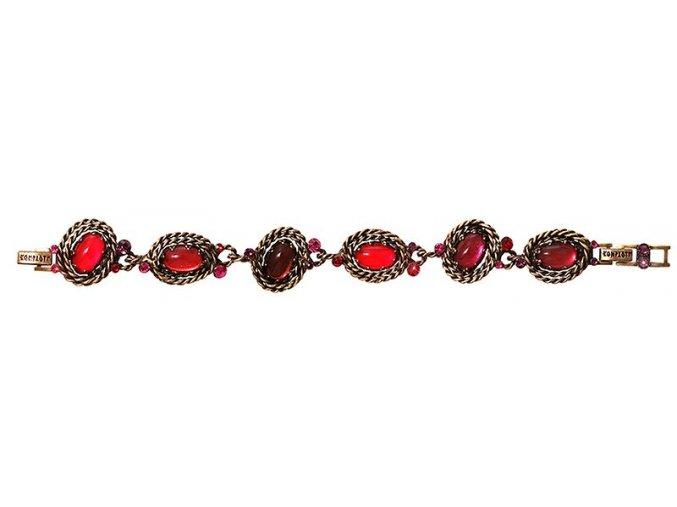 Twisted Lady - červená Náramky > Klasické - 5450543291147