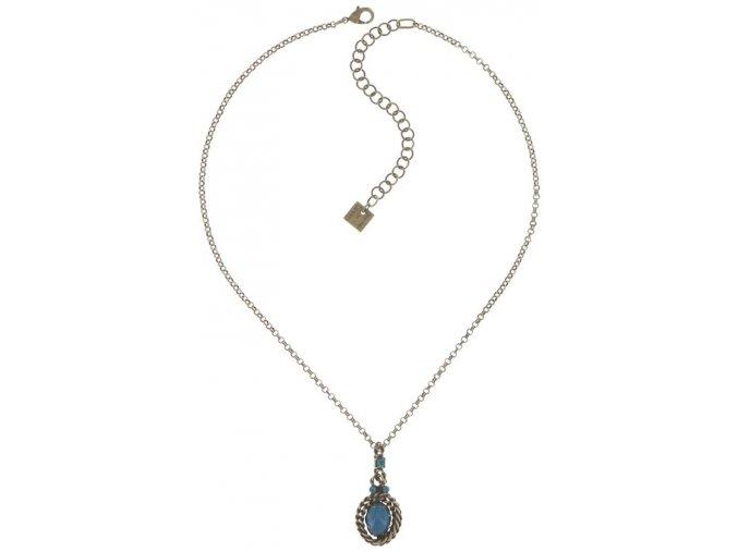 Twisted Lady - modrá Náhrdelníky - 5450543293882