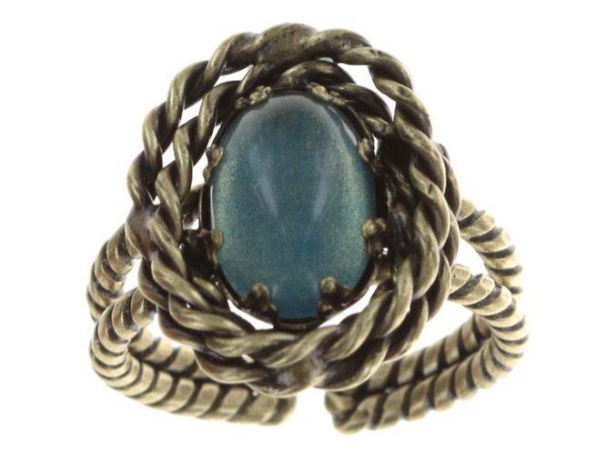 Twisted Lady - modrá Prsteny - 5450543293912
