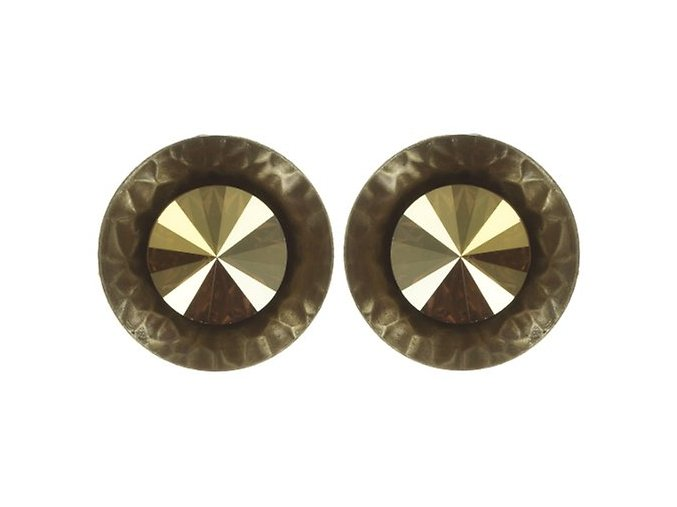 Rivoli Concave - žlutá Náušnice > Puzety - 5450543325880