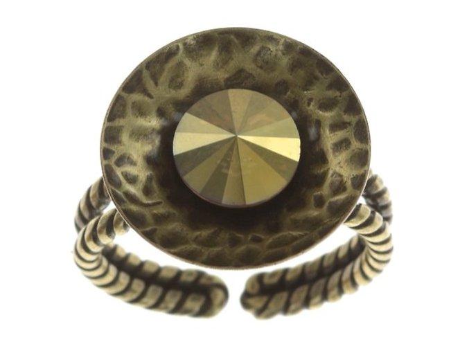 Rivoli Concave - žlutá Prsteny - 5450543325941