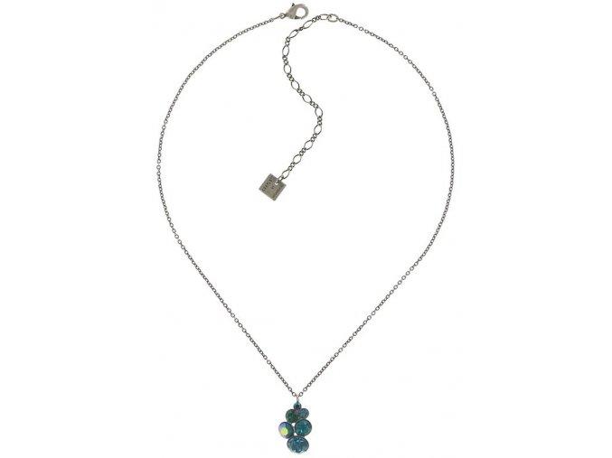 Petit Glamour - modrá/zelená Náhrdelníky - 5450543344331