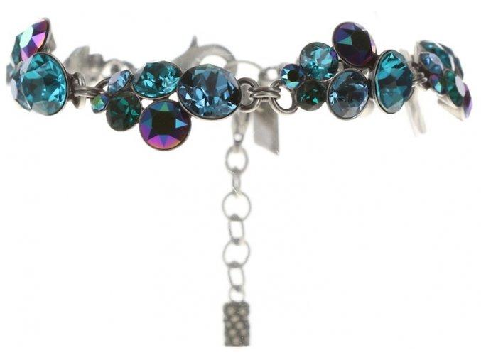Petit Glamour - modrá/zelená Náramky > Klasické - 5450543344348