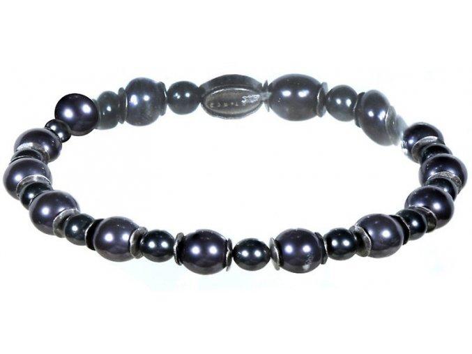 Pearl Shadow - černá Náramky > Elastické - 5450527782548