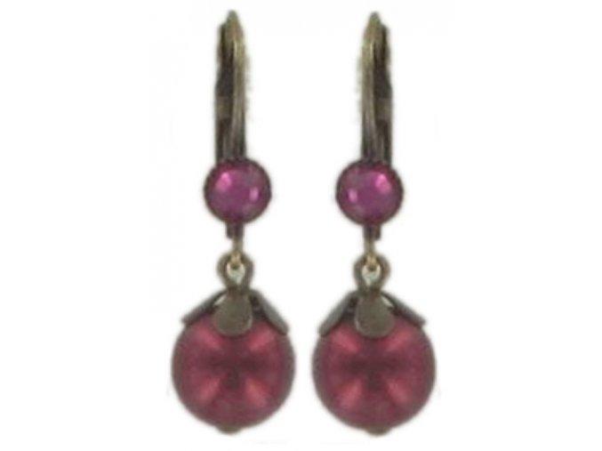 Pearl 'n' Flowers - červená Náušnice > Klasickézapínání - 5450527805025