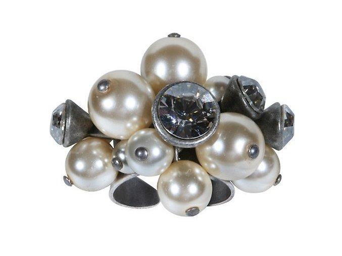 Pearl 'n' Ribbons - bílá Prsteny - 5450527828567