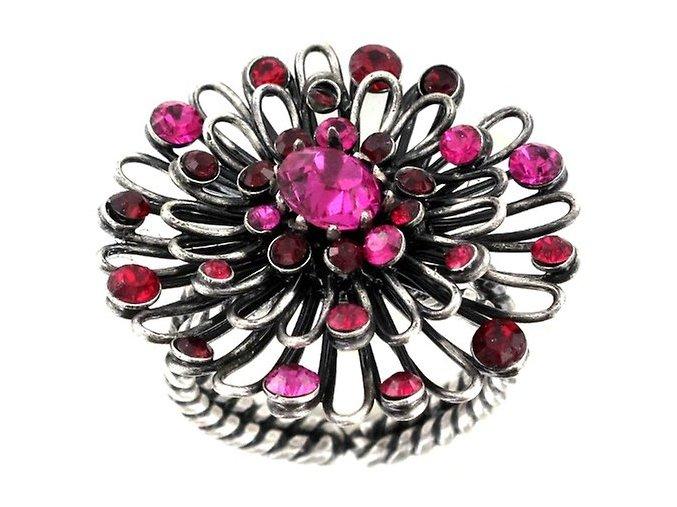 Distel - růžová/červená Prsteny - 5450543036359