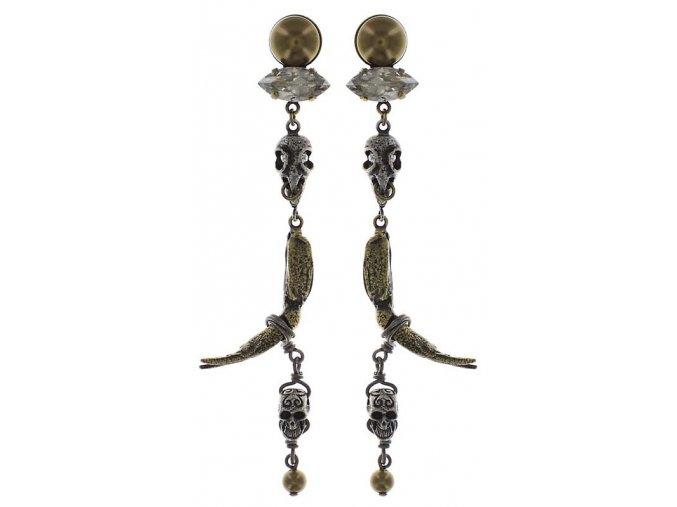 Spell on You - stříbro/bronz Náušnice > Puzety - 5450543081731