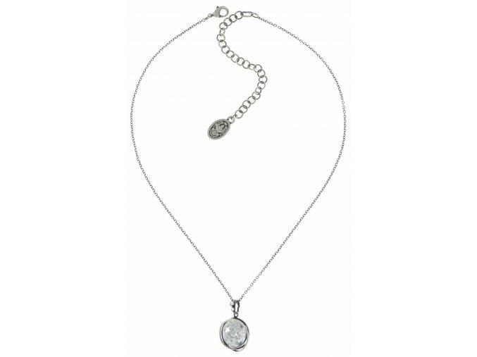 Sparkle Twist - bílá Náhrdelníky - 5450543086521