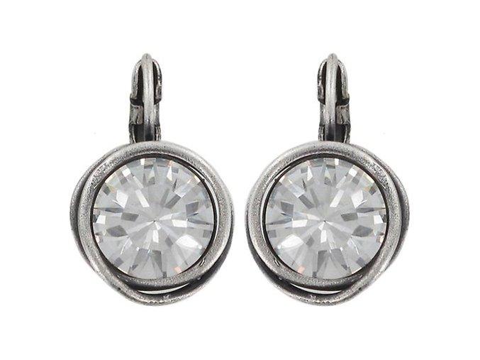 Sparkle Twist - bílá Náušnice > Klasickézapínání - 5450543086552