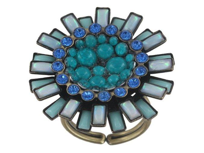 Doris Daisy - modrá Prsteny - 5450543104591