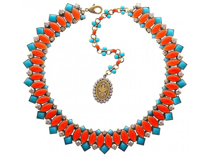 Ethnic Mosaic - multi/více barev Náhrdelníky - 5450543108421