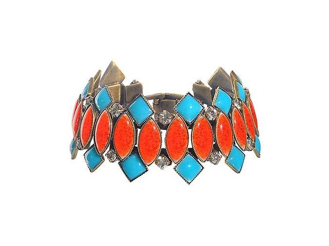 Ethnic Mosaic - multi/více barev Náramky > Klasické - 5450543108483