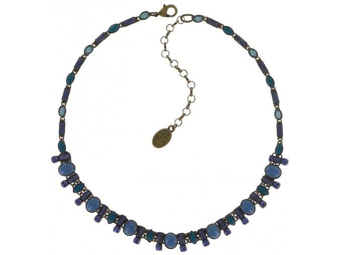 Ethnic Mosaic - modrá/zelená Náhrdelníky - 5450543109909