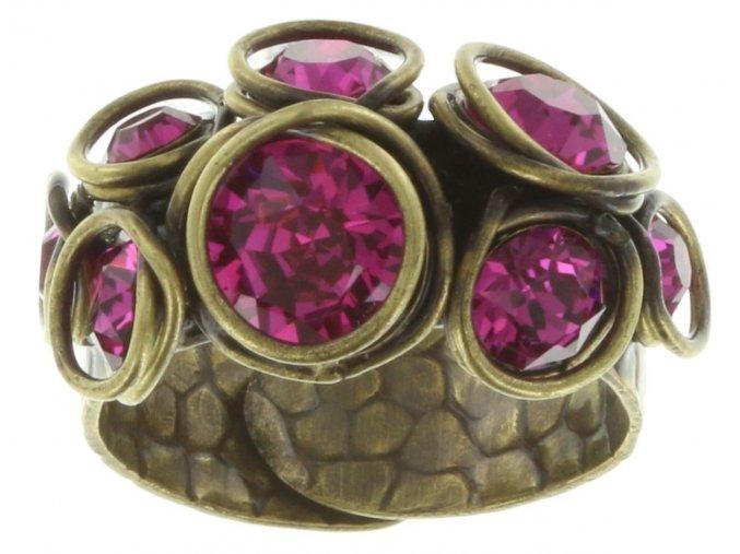Sparkle Twist - růžová Prsteny - 5450543131672