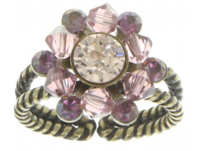 Dutchess - beige/pink Prsteny - 5450543167824