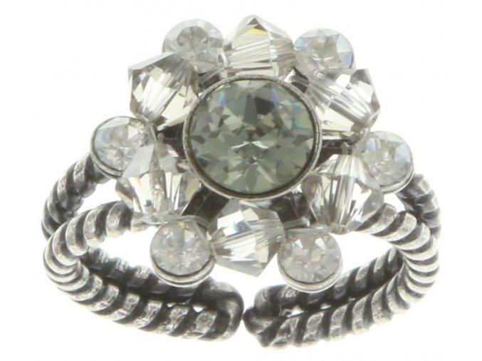 Dutchess - šedivá Prsteny - 5450543168661